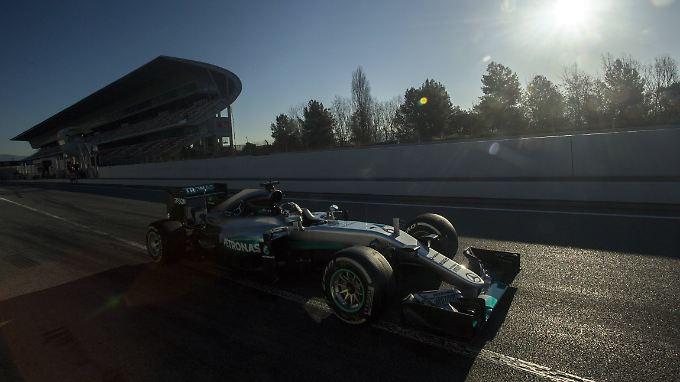 Einmal Gas gegeben und damit alle in den Schatten gestellt: Nico Rosberg.