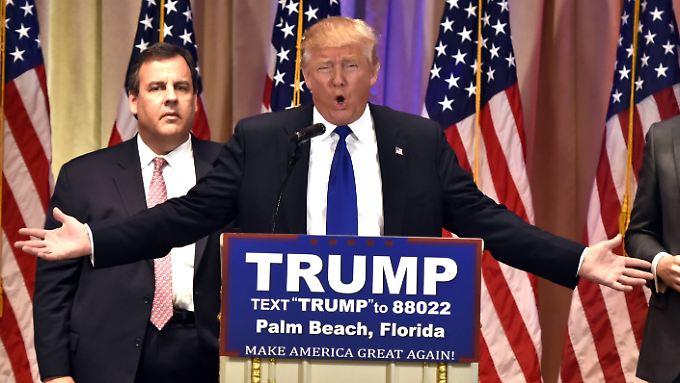 Donald Trump versprach, die Republikaner zu einen. Tatsächlich scheint er aber eher zu Spaltung der Partei beizutragen.