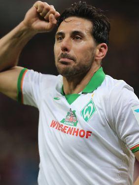 """""""Es ist für einen Stürmer immer wichtig, viele Tore zu schießen"""": Claudio Pizarro."""