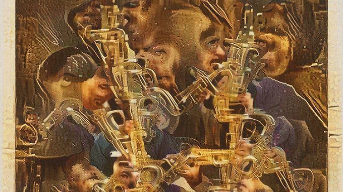 """Auch in San Francisco zu sehen: """"Saxophone Dreams"""" von Mike Tyka."""