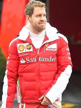 Die Erwartungen an Sebastian Vettel und sein Team sind hoch.