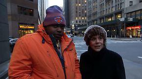 """""""Ohne Laura wäre ich tot oder im Knast"""": Wie reiche New Yorkerin und Straßenjunge Freunde wurden"""