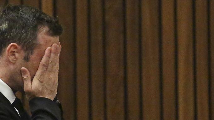 Pistorius vor Gericht, im Dezember vergangenen Jahres.