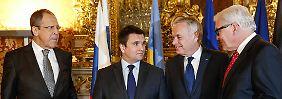 Unzufrieden mit Ukraine-Gesprächen: Steinmeier haut auf den Tisch