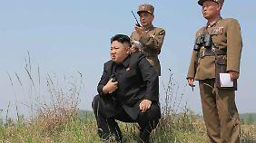 Kim Jong Un fühlt sich durch die Sanktionen offenbar provoziert.