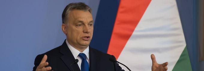 Gegen Flüchtlinge abschotten: Orban setzt auf Alleingänge in Europa