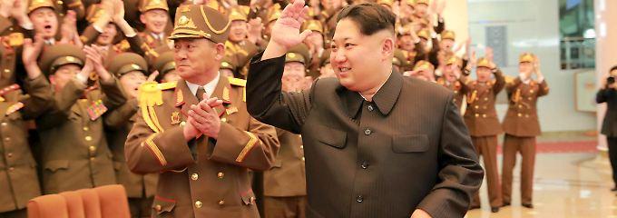Drohung und Gegendrohung, so läuft das auf der Koreanischen Halbinsel.