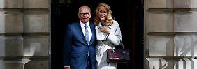 Bis dass der Tod sie scheidet: Rupert Murdoch heiratet Jerry Hall