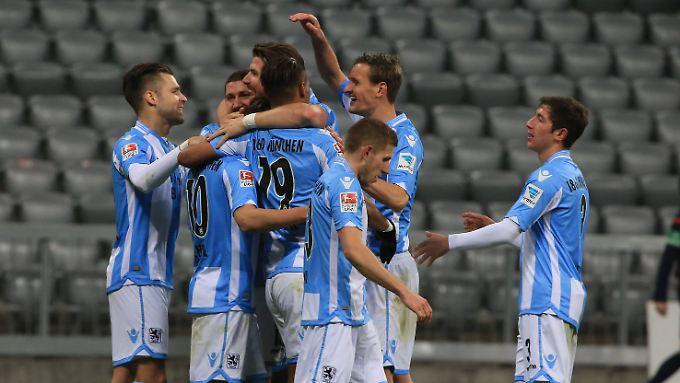 Erstmals seit Ewigkeit steht 1860 München nicht mehr auf einem Abstiegsplatz.