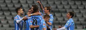 Klassenkampf in der 2. Liga: 1860 klettert nach oben, Fortuna rutscht ab