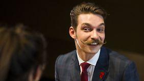 """Durch den """"Movember"""" auf den Bart gekommen: Der 32-jährige Benny Reinhold gehört zu den jüngsten Teilnehmern des Wettbewerbs."""