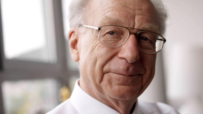 Lothar Späth starb im Alter von 78 Jahren.