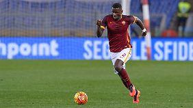 Alles richtig gemacht: Antonio Rüdiger kann beim AS Rom glänzen.