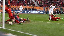 FC Augsburg - Bayer Leverkusen 3:3 (2:0)