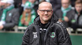 Mit Leib und Seele bei Hannover 96: Trainer Thomas Schaaf.