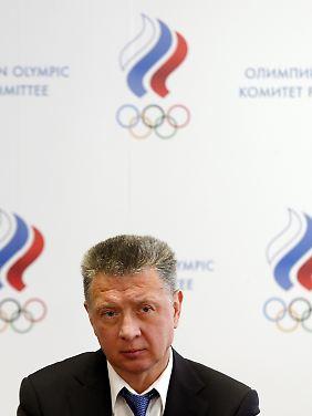 Russlands Leichtathletik-Boss Dmitri Schljachtin verspricht Aufklärung.