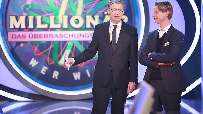Günther Jauch (l.) und Prof. Dr. Andreas Ziemann.