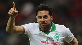 """""""Oldie but Goldie"""" heißt es für Claudio Pizarro."""