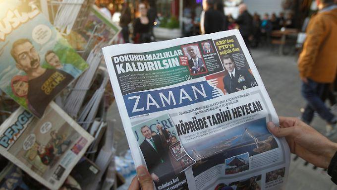 """""""Zaman"""" war die auflagenstärkste Zeitung der Türkei."""