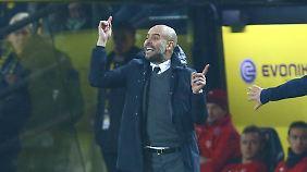 Noch bei den Bayern und schon Pläne für Manchester City: Pep Guardiola tanzt auf zwei Hochzeiten.