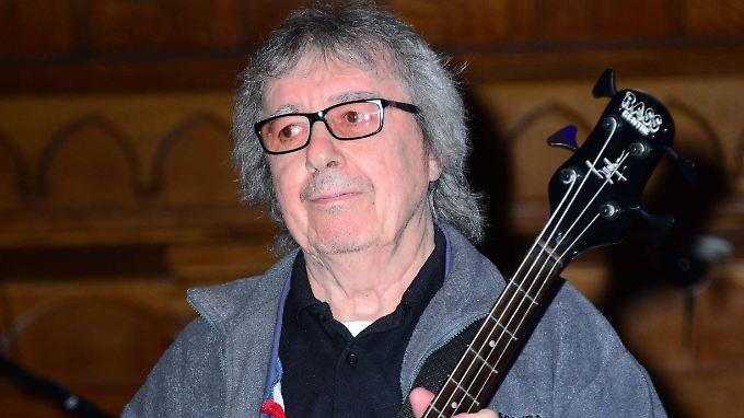 Kann auf Genesung hoffen: Bill Wyman, früherer Bassist der Rolling Stones.