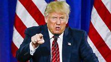 Hat vor dem Spiegel offenbar fleißig historische Posen geübt: Donald Trump