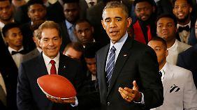 Macht täglich Sport: Barack Obama.
