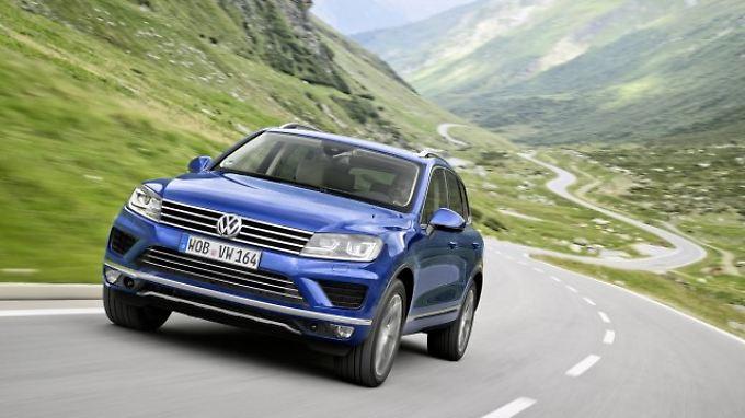 Der Touareg ist ein Erfolgsmodell für VW.
