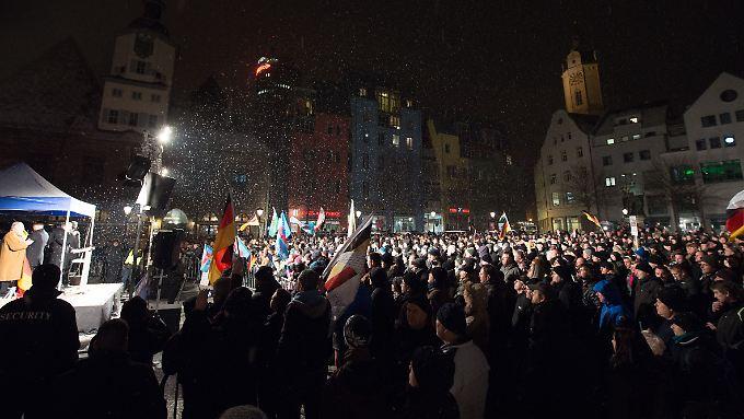 AfD-Kundgebungen in Jena (Archivbild vom 20.01.).