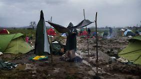 Die humanitären Bedingungen in Idomeni sind katastrophal.
