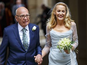 Hochzeit mit Jerry Hall kurz vor dem 85. Geburtstag.