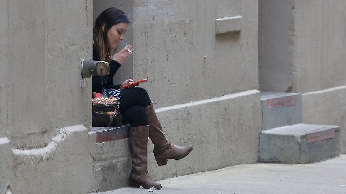 Das Rauchen in den USA wird allmählich zu einer verbotenen Sache.
