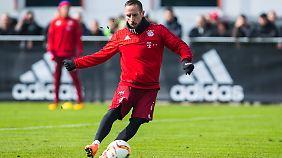 Franck Ribéry möchte gerne noch mehrere Jahre beim FC Bayern München spielen.