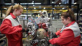 Vorstoß in Männerdomäne: Immer mehr Frauen begeistern sich für technische Berufe