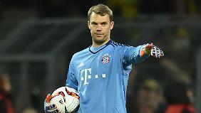 Bayern-Keeper Manuel Neuer glaubt nicht, dass die Bundesliga in englischen Geldfluten untergehen wird.