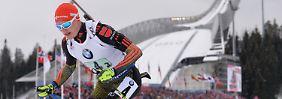 In der Staffel klappt es: Biathlon-Herren erlösen sich mit WM-Silber
