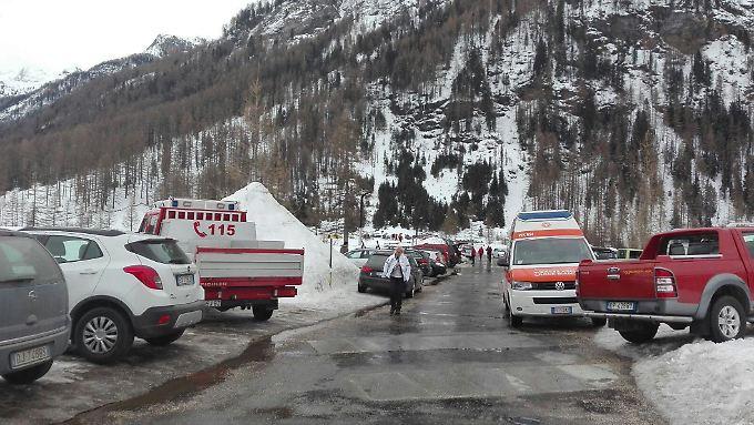 Komplizierte Rettungsarbeiten: Sechs Menschen sterben bei Lawinenunglück in Südtirol