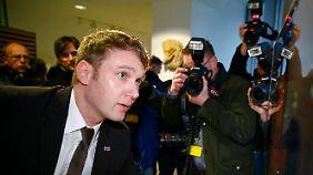 André Poggenburg übernimmt den Fraktionsvorsitz der AfD im Landtag.