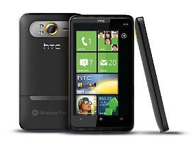 Das HTC HD7 hat einen 4,3 Zoll großen Bildschirm.