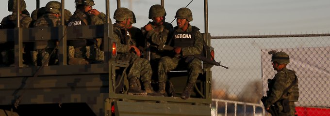 Alltagsszenen in Mexiko: Der Drogenkrieg hat das Land fest im Griff (Archivbild).