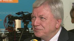 """Volker Bouffier über Landtagswahlen: """"Wir haben ein hohes Protestpotenzial"""""""