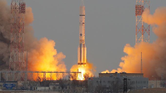 Start der europäisch-russischen Mission: ExoMars sucht nach Leben auf dem Roten Planeten