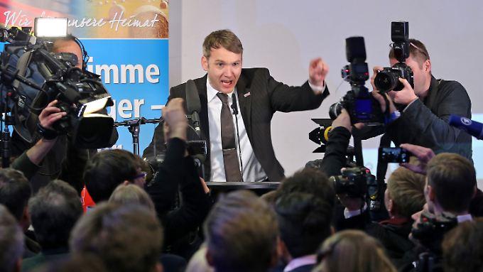 Die AfD Sachsen-Anhalt hat mit André Poggenburg an der Spitze fast ein Viertel der Stimmen geholt.