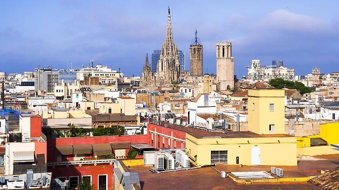 Ein Blick auf die Skyline der katalanischen Metropole.