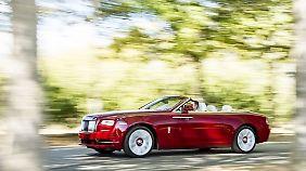 """Rolls-Royce nimmt Begriffe wie """"Verführung"""" oder """"Sexappeal"""" in den Mund."""