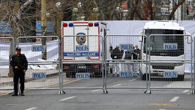 Staatspräsident Erdogan fordert jetzt als Folge aus dem Anschlag in Ankara eine breitere Definition von Terrorismus im Strafrecht.