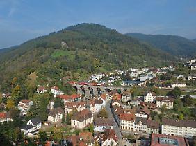 Die Bahn ist die einzige zweigleisige Gebirgsbahn in Deutschland.