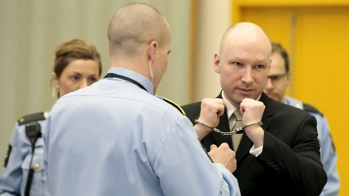 """Anders Behring Breivik: """"Ich werde schlimmer behandelt als ein Tier."""""""