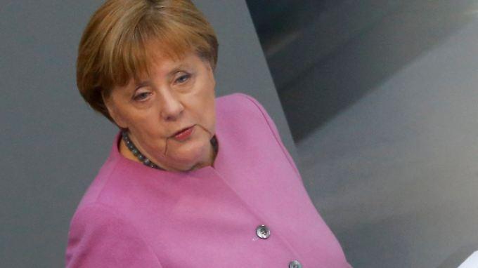 Kanzlerin Angela Merkel verweist auf Defizite in der Türkei, die einem Beitritt entgegenstünden.