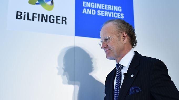 """2016 werde für den Konzern ein """"Übergangsjahr"""", erklärte Bilfinger-Chef Per Utnegaard"""